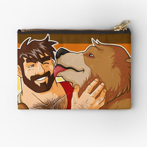 BEAR KISS - BEAR PRIDE Zipper Pouch