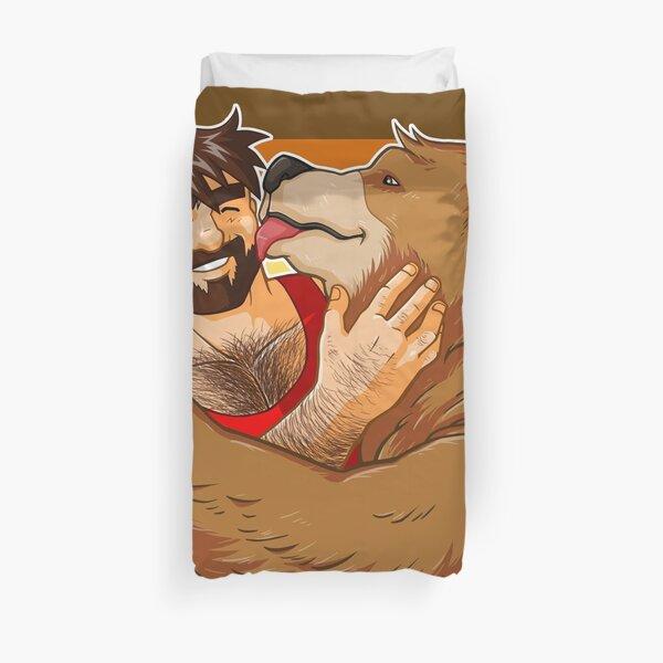 BEAR KISS - BEAR PRIDE Duvet Cover