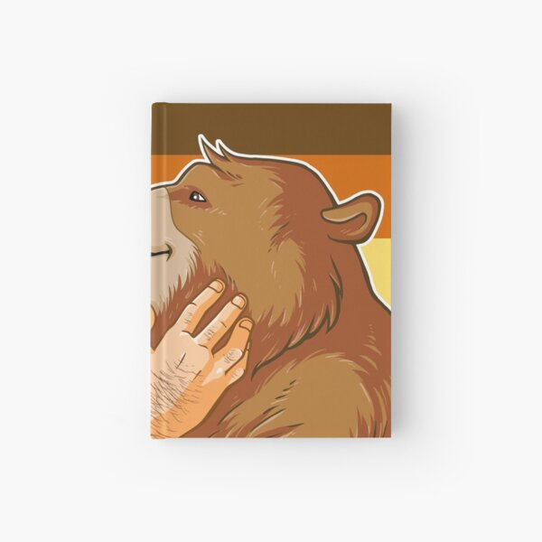 BEAR KISS - BEAR PRIDE Hardcover Journal