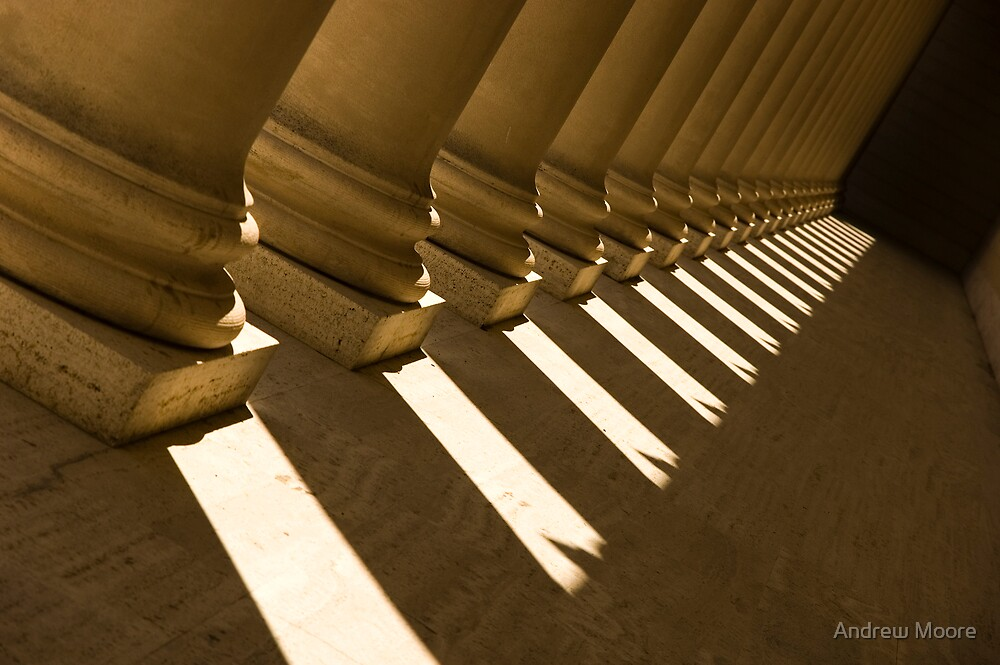 Legion of Honor, Column Shadows by Andrew Moore
