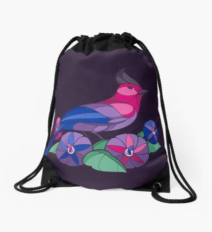 Pride Birds - Bisexual Drawstring Bag