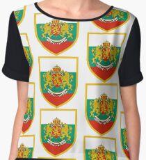 Bulgaria Flag Chiffon Top