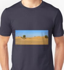 Trees in the ocean of Dunes Unisex T-Shirt