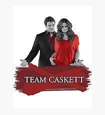 Team Caskett Photographic Print