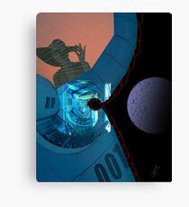 Space prison Canvas Print