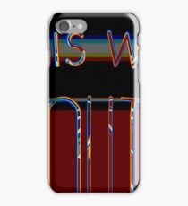 out this way III iPhone Case/Skin