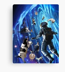 UP IN SPACE  Canvas Print