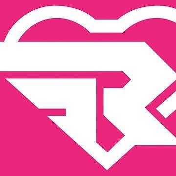 Ribbon Girl logo by Retro-Freak