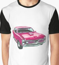 car pontiak gto v8 Graphic T-Shirt