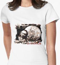 Roman Gladiator weaponry Women's Fitted T-Shirt
