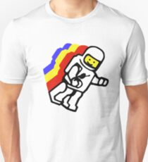 lego spaceman torso retro electric boogaloo.  Unisex T-Shirt