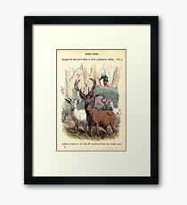 A Treasury of pleasure books for young people 1856 161 Robin Hood Framed Print