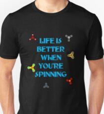 Fun Life Is Better When You're Spinning T-shirt T-Shirt