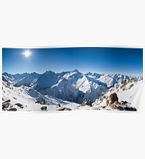Sunshine in the Alps Poster