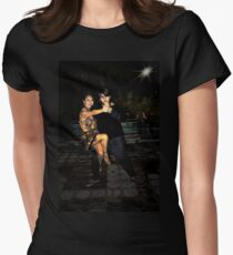 It Takes Two To Tango III Womens Fitted T-Shirt