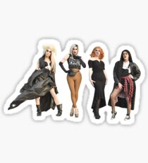 Alaska, Sharon, Jinkx, Adore Sticker