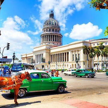 Capitol Building Havana Cuba by tommysphotos