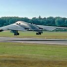 "Northrop Grumman B-2A Spirit 89-0127 ""Spirit of Kansas"" taking off by Colin Smedley"