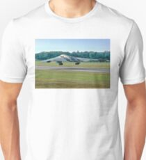 "Northrop Grumman B-2A Spirit 89-0127 ""Spirit of Kansas"" taking off Unisex T-Shirt"