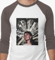 "Original Collage - ""What People Think""  Men's Baseball ¾ T-Shirt"