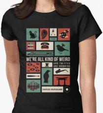 Haruki Murakami Women's Fitted T-Shirt