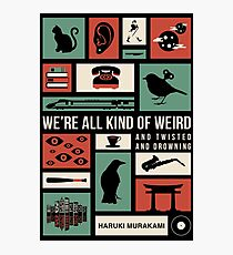 Haruki Murakami Photographic Print