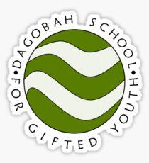Dagobah School version 2 Sticker