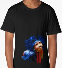 Ello Worm Painting - Labyrinth Movie  Long T-Shirt
