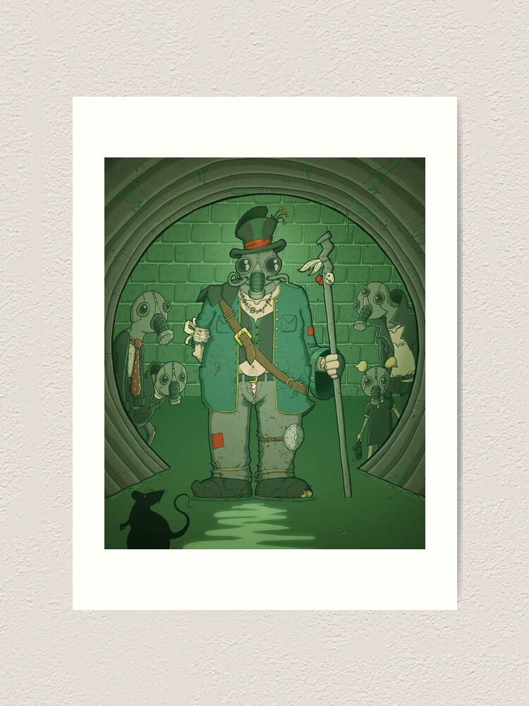 Alternate view of King of the Sewer Art Print