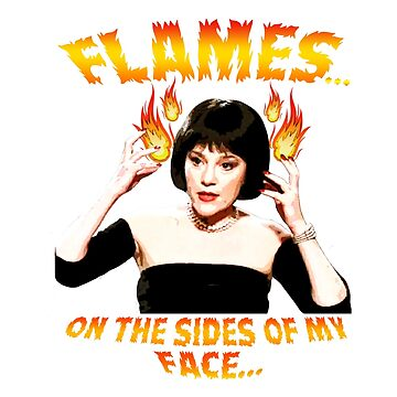 Clue Mrs White Flames by markdwaldron