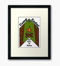 Camp Endor Framed Print