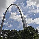 Gateway Arch by Bob Moore
