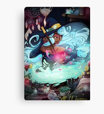 Heart's Witch Canvas Print
