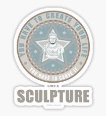 William Shatner / QUOTE / TSHIRT / SCULPTURE  Sticker