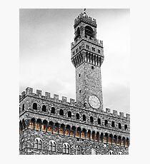 Palazzo Vecchio coat of arms Photographic Print