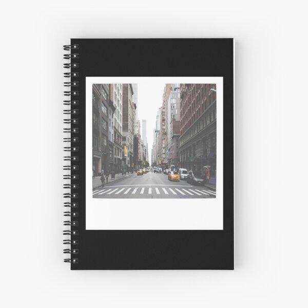 NYC Polaroid Spiral Notebook