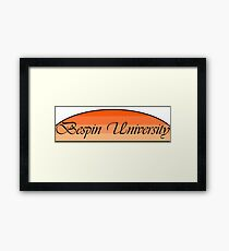 Bespin University Framed Print