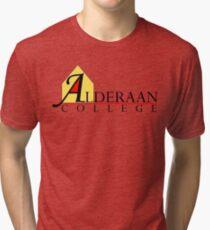 Alderaan College Tri-blend T-Shirt