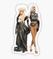 Alaska & Sharon  Sticker