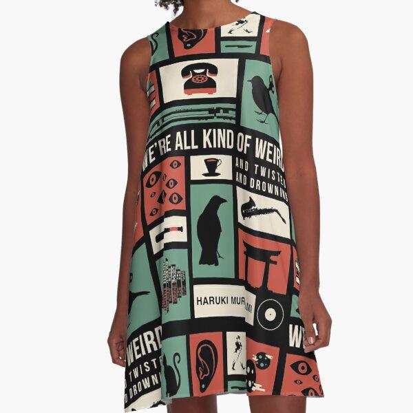 Haruki Murakami A-Line Dress