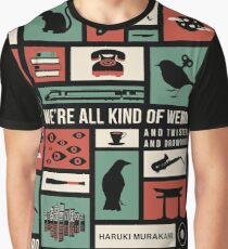 Haruki Murakami Graphic T-Shirt