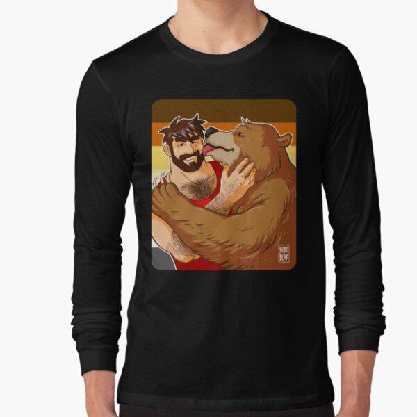 BEAR KISS - BEAR PRIDE Long Sleeve T-Shirt