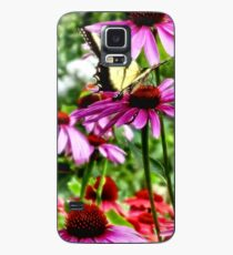 Tiger Swallowtail on Coneflower Case/Skin for Samsung Galaxy