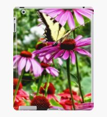 Tiger Swallowtail on Coneflower iPad Case/Skin