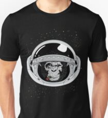 Space Ape Black and White Unisex T-Shirt