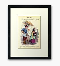 A Treasury of pleasure books for young people 1856 160 Robin Hood Framed Print
