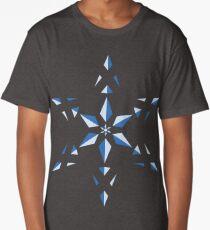 Simple Blue Long T-Shirt