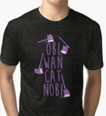 Obi Wan Catnobi Tri-blend T-Shirt