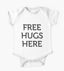 Free hugs here One Piece - Short Sleeve