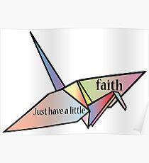 Just have a little faith-Prison Break Poster
